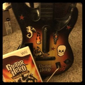Guitar hero made for WII